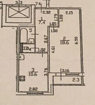 Продается 1-комн. квартира 40.2 м2 - Фото 1