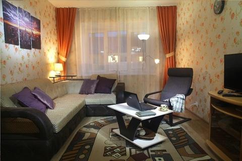 Отличная уютная квартира В современном доме!, Квартиры посуточно в Дзержинске, ID объекта - 321131203 - Фото 1