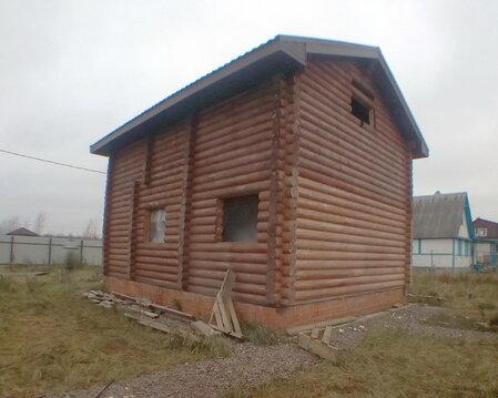 Кобралово участок с домом, баней, беседкой из калиброванного бруса ИЖС - Фото 2