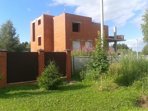 Ждп-563 зу 12 сот + дом недострой д.Талаево - Фото 4