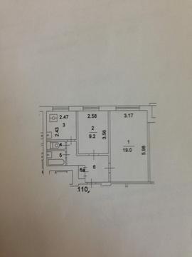 Продам: 2-комн. квартира, 44.6 кв.м. - Фото 2