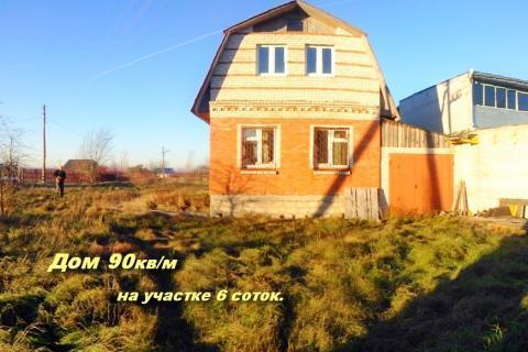 Дом 90 кв\м на участке 6 соток. Красное село, СНТ Колос 2. - Фото 1