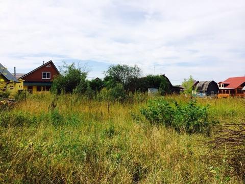 Участок крайний к лесу. д. Лукошкино территория Новой Москвы. - Фото 4