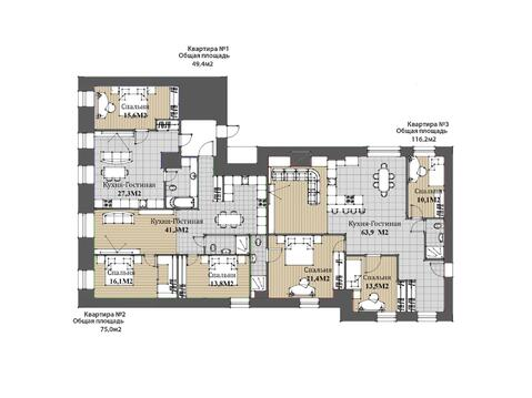 Продается 9 комнатная квартира на Невском пр, д.88 - Фото 5