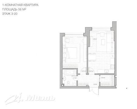 Продажа квартиры, м. Ленинский проспект, Донской 5-й проезд - Фото 2