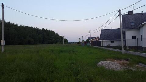 Участок, Калужское ш, 25 км от МКАД, Кузенево, котеджная застройка. . - Фото 5