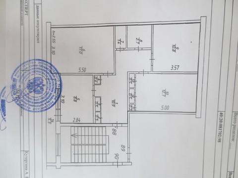 Сдам 3х к. квартиру с мебелью и техникой около города-курорта Таруса - Фото 4