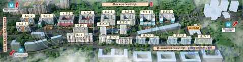 Продажа квартиры, м. Фрунзенская, Ул. Красуцкого - Фото 3