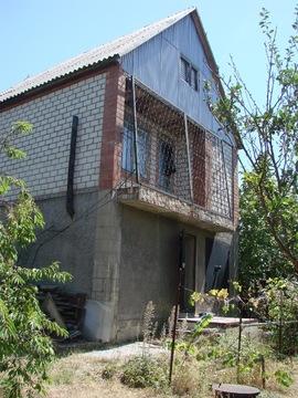 Дача двухэтажная 73,4 кв.м. в с. Южная Озереевка на з/участке 4,66 сот - Фото 1