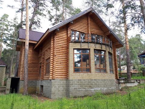 Срубовой дом в сосновом лесу! - Фото 1