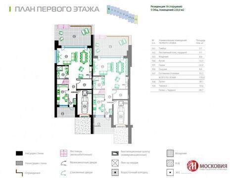 Резиденция 215 кв.м. Москва 1 км от МКАД Новорижское шоссе - Фото 4