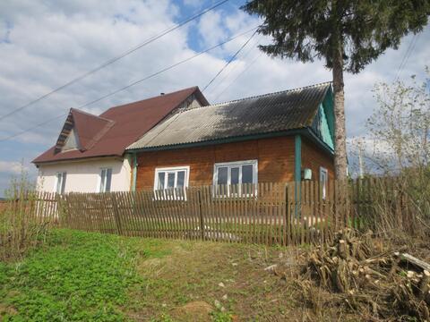 Продам дом из бревна 40 м2 в с. Истомино, Калужской обл, Тарусского р. - Фото 4