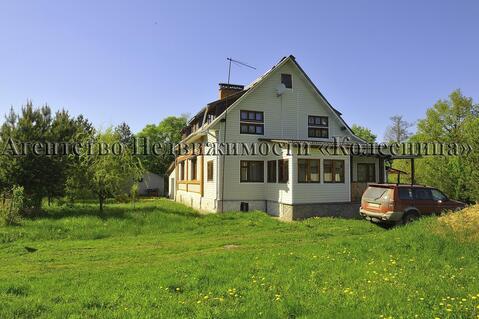 Дом с баней в деревне Кашурино, 32 сотки, все коммуникации, гараж, сад - Фото 1