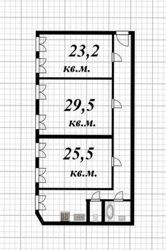 Продажа 2-х комнат в 3-х комнатной квартире на ул. Казанская - Фото 3