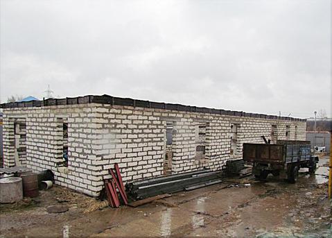 Производственное помещение (недострой) на участке пром.назначения 25 с - Фото 1