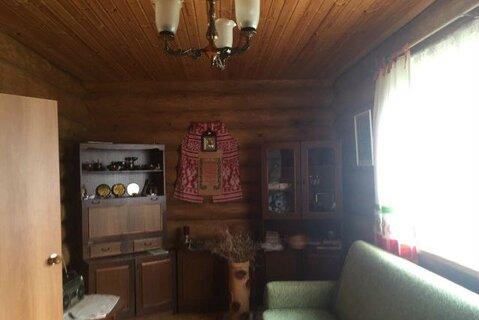 Продам дом из струганого бревна в д. Замленье Новгородского района - Фото 4