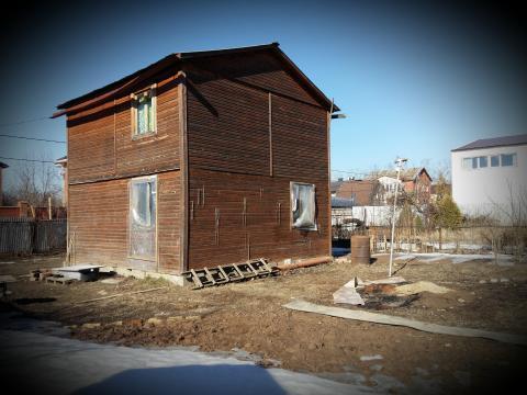 Купить дачу участокснт Березка-2 Развилка дом 70м2 уч 6сот ПМЖ Маг газ - Фото 1