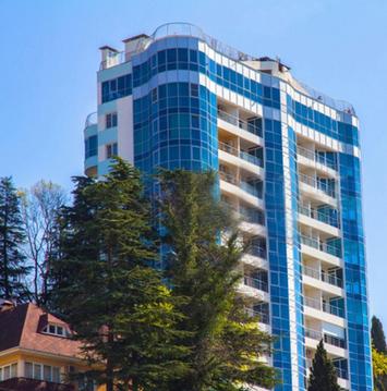 Элитный Пентхаус, 4 комнаты в ЖК Панорама, самый центр Сочи - Фото 1