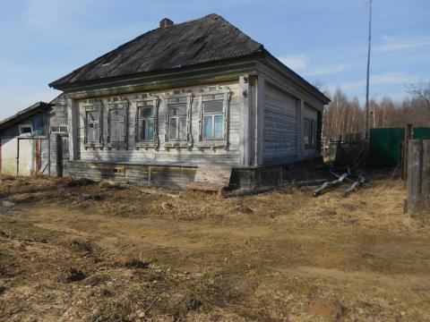 Дом в д.Мамасево, Клепиковского района, Рязанской области. - Фото 1