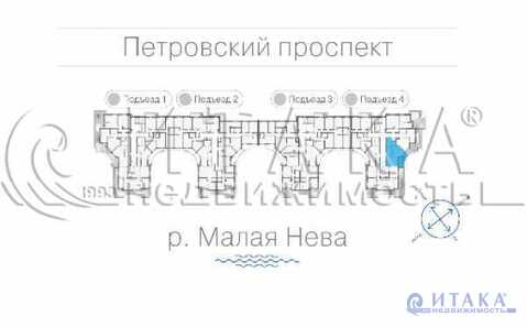 Продажа квартиры, м. Чкаловская, Петровский пр-кт. - Фото 5