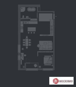 Трехкомнатная квартира свободной планировки Центр Лофт - Фото 1