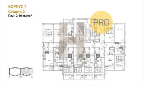 Продажа 1-комнатной квартиры, 25.6 м2, Павла Корчагина, д. 236 - Фото 2