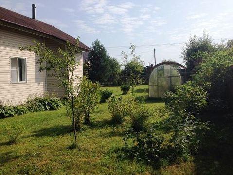 Дом на берегу реки Руза, прилесной участок 18 соток, д. Малоиванцево - Фото 4