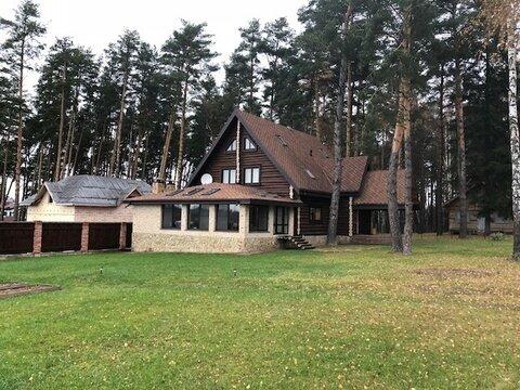 Дом 300 кв.м, сосновый бор, д. Репниково Чеховский р-н - Фото 1