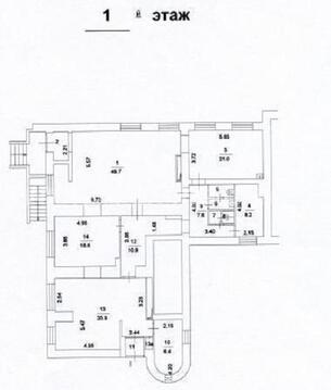 Продажа магазина пл. 170 м2 м. Отрадное в жилом доме в Отрадное