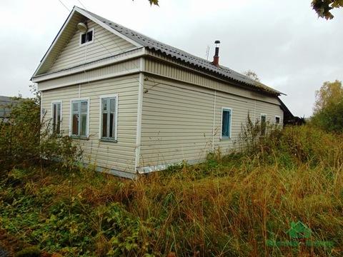 Рубленный дом недалеко от озера - 89 км от МКАД - Фото 1