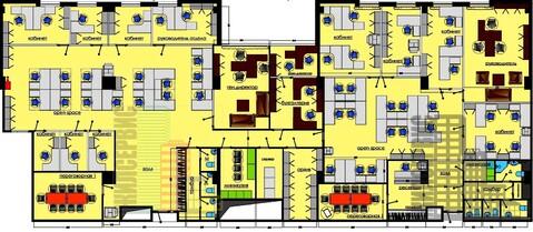 Офис 344,6м с ремонтом в БЦ класса А, паркинг, метро 10минут - Фото 5