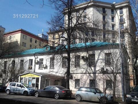 Здание на Цветном бульваре по адресу: Большой Каретный пер, д 22, пло