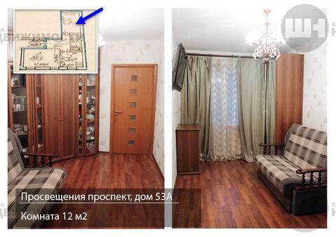 Продается 2-к Квартира ул. Просвещения проспект - Фото 5