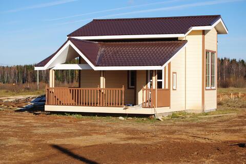 Деревянный дом 80 кв.м. в окружении хвойного леса на берегу озера - Фото 2