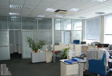 Офис 657 кв.м у метро Калужская в БЦ - Фото 1