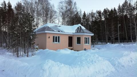 Новый дом посреди леса кп Заповедник - Фото 1