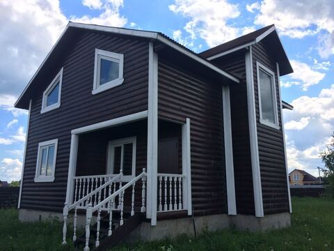 Дом 130 м2 с Пропиской, Газ, Шаблыкино - Фото 1