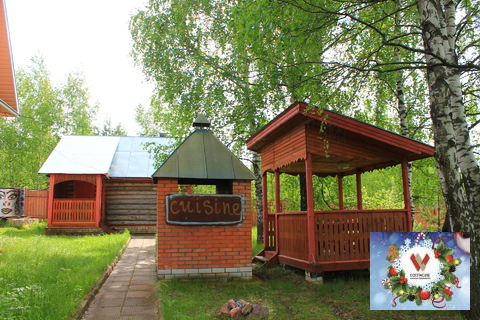 Д. Грибаново, дом с баней , 30 соток. свет, газ, вода. - Фото 4