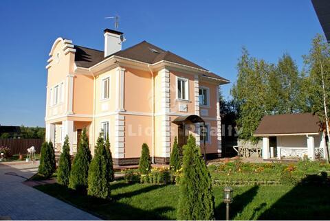 Рогозинино, Киевское ш, 24км. от МКАД. Великолепный новый дом 364кв.м - Фото 1