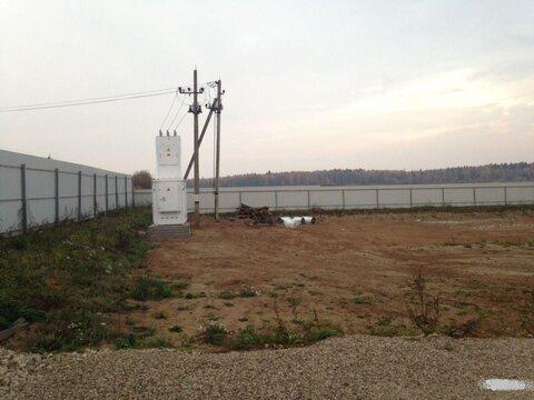 Участок 800 метров от Киевского шоссе, Малоярославец, 100квт, забор. - Фото 3