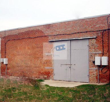 Неотапливаемый капитальный склад 950 кв.м. в Аксайском районе - Фото 1