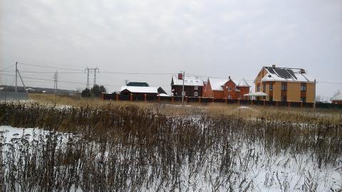 Каширское шоссе 48 км от МКАД в с. Вельяминово, участок 15 соток - Фото 2