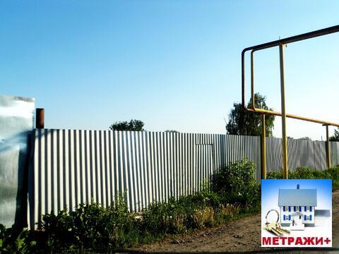 Участок с газом и фундаментом под дом в с. Обуховское - Фото 2