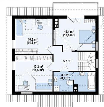 Уютный дом 112 кв.м на участке 12 соток. - Фото 4