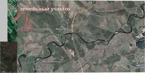 Земельный массив рядом с п.Пионерск, Шелеховский район - Фото 1