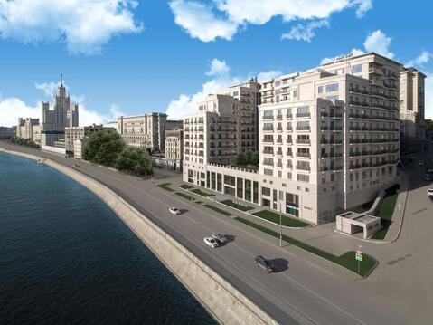 3-х комнатная квартира 136 кв. м в доме deluxe на набережной Москва . - Фото 4
