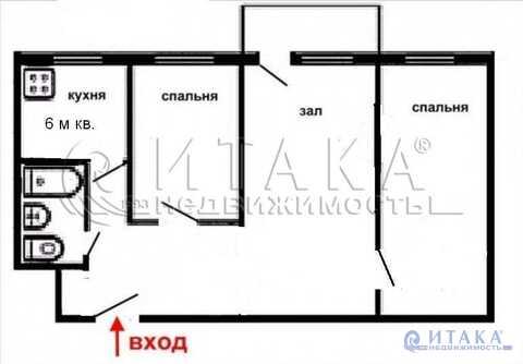 Продажа квартиры, Бугры, Всеволожский район, Ул. Шоссейная - Фото 4