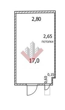 Гараж в районе, Советский, ул.Достоевского д.147/1, бокс 20 - Фото 4