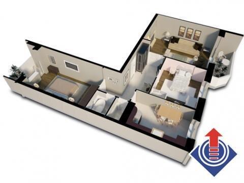 3-х комнатная квартира в ЖК Школьный, г Наро-Фоминск - Фото 2