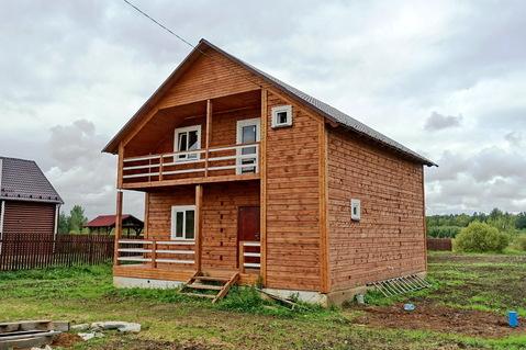 Продается новый дом в деревне, жилая улица, рядом река, лес, родник. - Фото 2